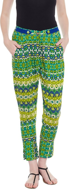 Natty India Printed Cotton Womens Harem Pants