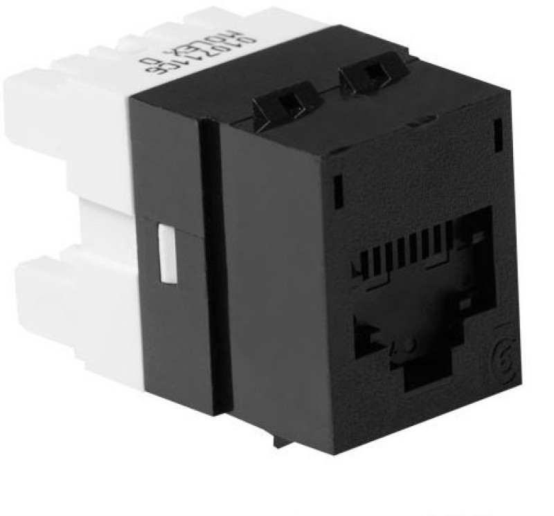Molex CAT 6 I/O Black Lan Adapter(100 Mbps)