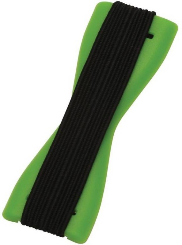Oxza Finger Sling Grip Your Phone Tablets with the new selfie Elastic Strap Phone Charm(Green)