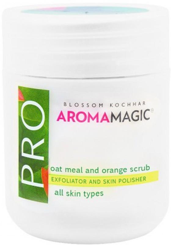 Aroma Magic Oat Meal & Orange Scrub Exfoliator and Skin Polisher Scrub(175 g)
