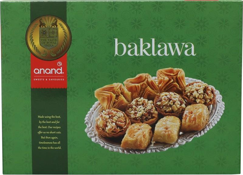 Anand Sweets Baklawa(250 g, Box)
