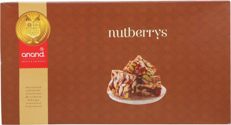 Anand Sweets Nutberry(450 g, Box)