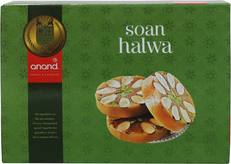 Anand Sweets Soan Halwa(350 g, Box)