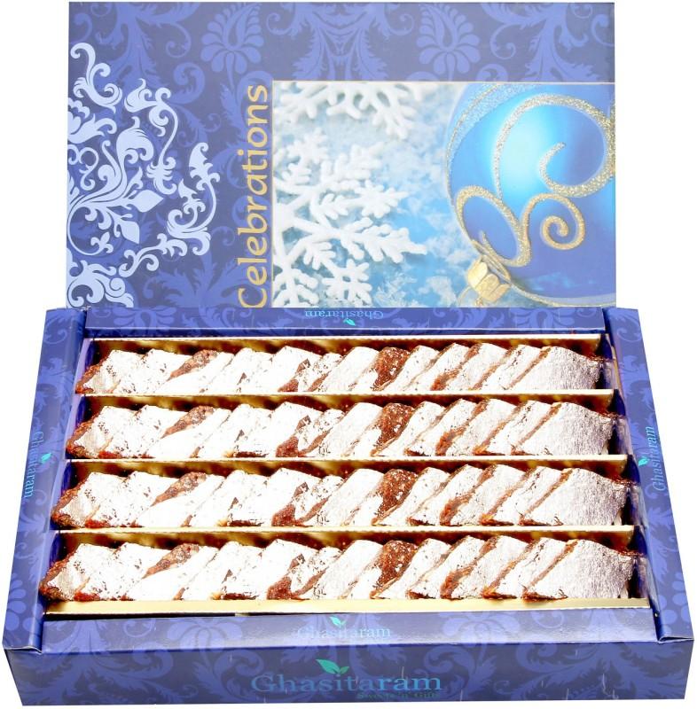 Ghasitaram Gifts Sugar Free Anjir Katli(800 g, Box)