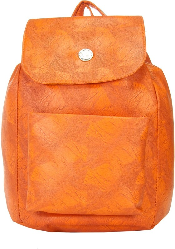 JG Shoppe JGCLNPack260 15 L Backpack(Orange)