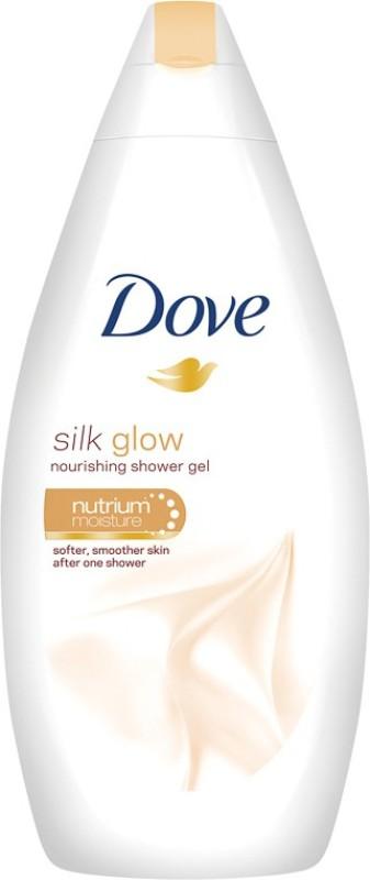 Dove Silk Glow Nourishing Shower Gel(500 ml)