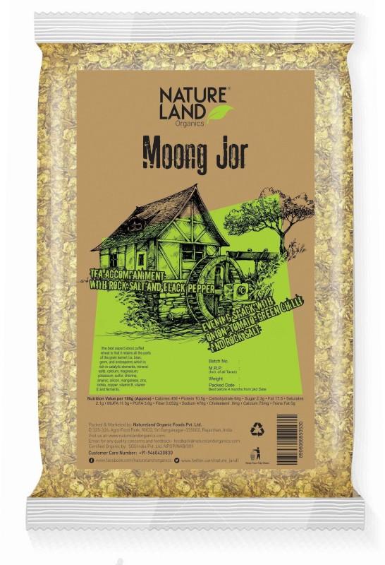 Natureland Organics Moong Jor (Flakes) 150 Gm(150 g, Pouch)