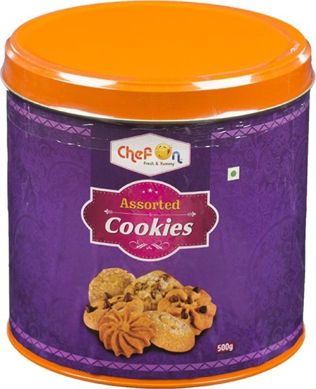 ChefOn Assorted Cookies 500 gm(500 g)