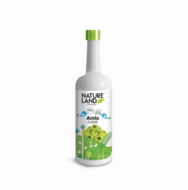Natureland Organics Awla Juice 500 Ml(500 ml)