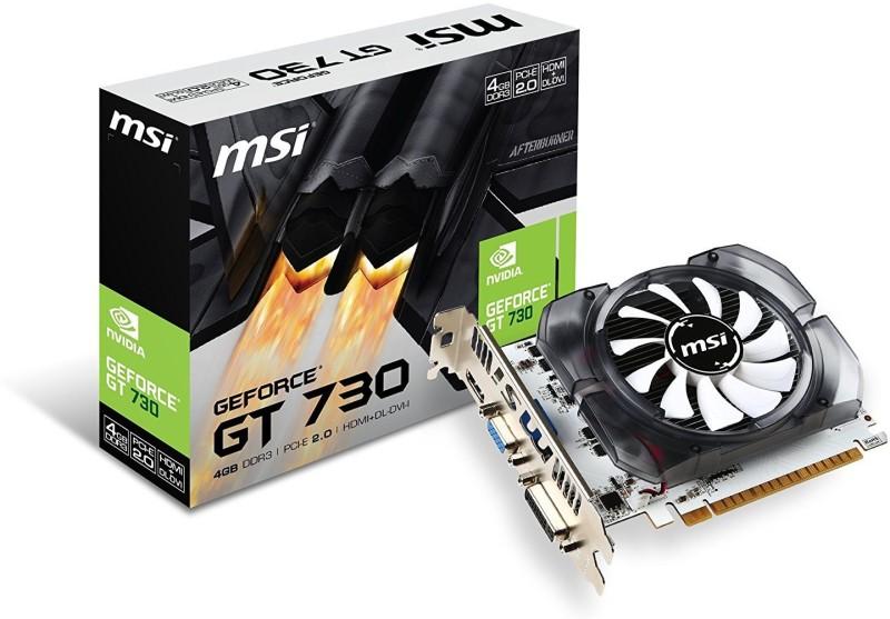 MSI NVIDIA N730-4GD3V2 4 GB GDDR3 Graphics Card(white black)