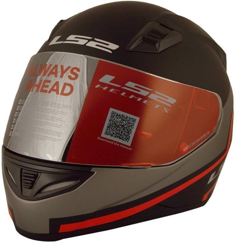 LS2 tron-black-red-matt Motorsports Helmet(black-red-matt)