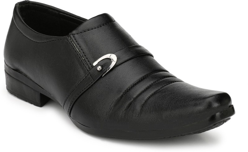 CEONA Boys Lace Derby Shoes(Black)