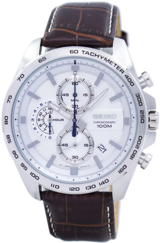 Seiko SSB263P1 Seiko Chronograph Quartz Tachymeter SSB263 SSB263P1 SSB263P Men's Watch Analog Watch - For Men
