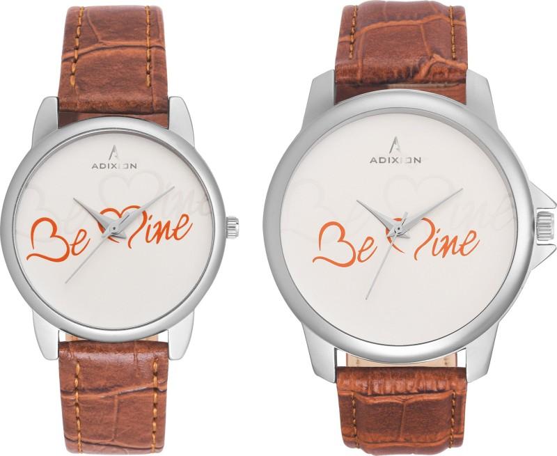 ADIXION 95SL52 New Combo Symbol of Love Couple Watch image