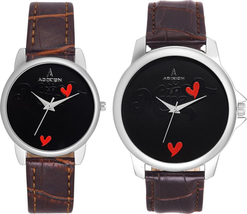 ADIXION 95SL18 New Combo Symbol of Love Couple Watch image