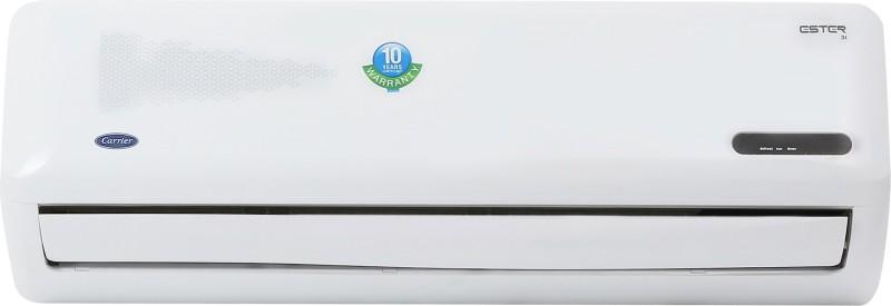 Carrier 1.5 Ton 3 Star BEE Rating 2018 Inverter AC - White(18K ESTER INVERTER - 3 Star/CAI18ES3C8F0, Copper Condenser)