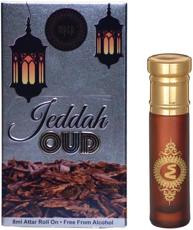 Madni Perfumes Jeddah Oud Economic Series Concentrated Attar / Ittar Herbal Attar(Oud (agarwood))