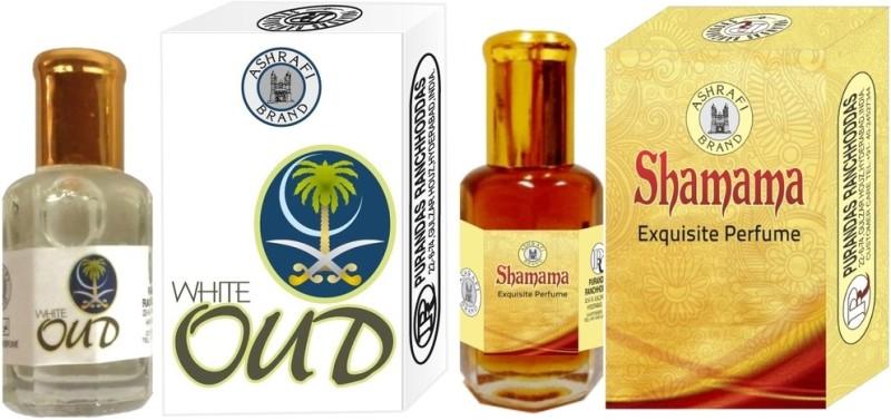 Purandas ranchhoddas White-Oud & Shamama Attar - 6ml Each Gift Set(Set of 2)