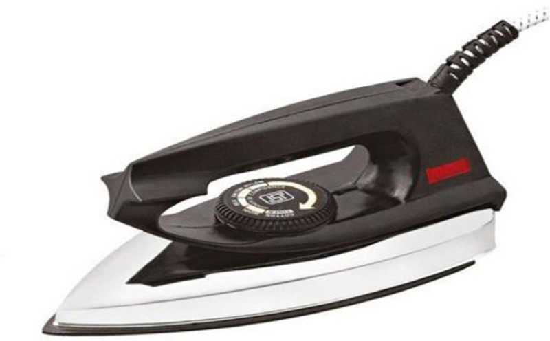 Blue Sapphire Royal Regular With Led Bulb Dry Iron(Black)