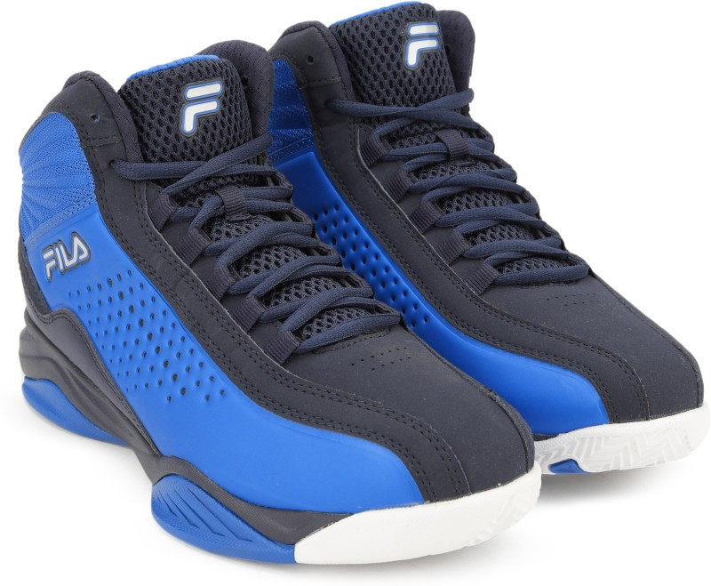 Fila ENTRAPMENT 3 Basketball Shoes For Men(Blue)