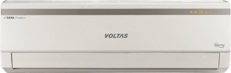 Voltas 1.2 Ton 5 Star BEE Rating 2018 Inverter AC - White(155VLZC, Copper Condenser)