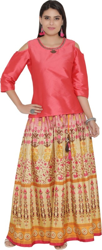 Shree Women Top and Skirt Set