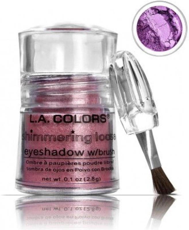 L.A. Colors Shimmerin 2.8 g(Purple)