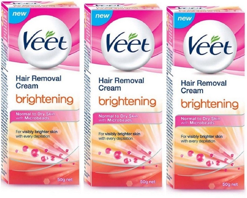 Veet Brightening Hair Removal Cream For Normal To Dry Skin Cream(50 g)