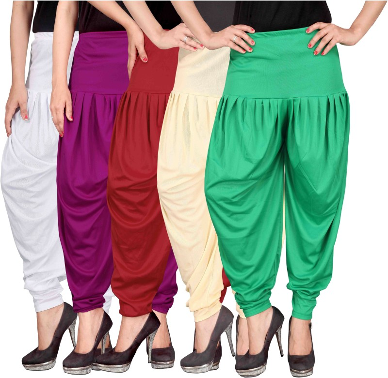 Culture the Dignity Solid Lycra Womens Harem Pants
