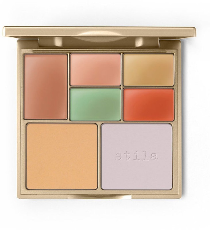 Stila Correct & Perfect All In One Color Correcting Palette Highlighter(Multicolor)