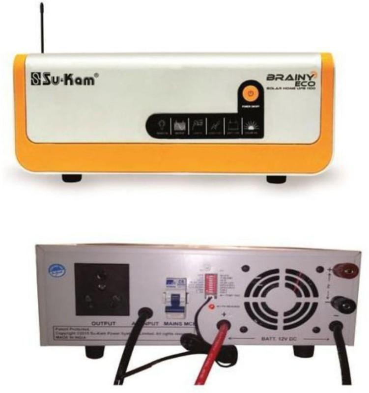 Su-Kam BRAINY ECO 1600/24V SU-KAM BRAINY ECO 1600/24V Pure Sine Wave Inverter