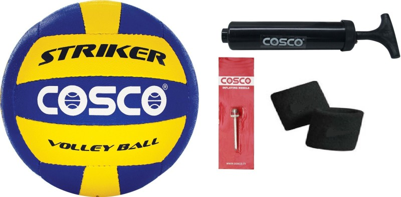 Cosco Striker Volleyball Combo kit Volleyball Kit