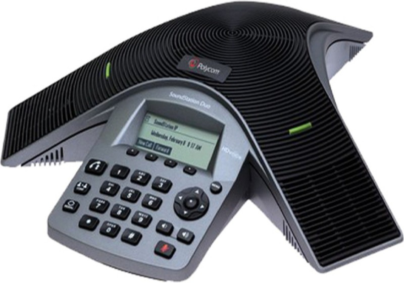 Polycom SoundStation Duo Cordless Landline Phone(Grey)