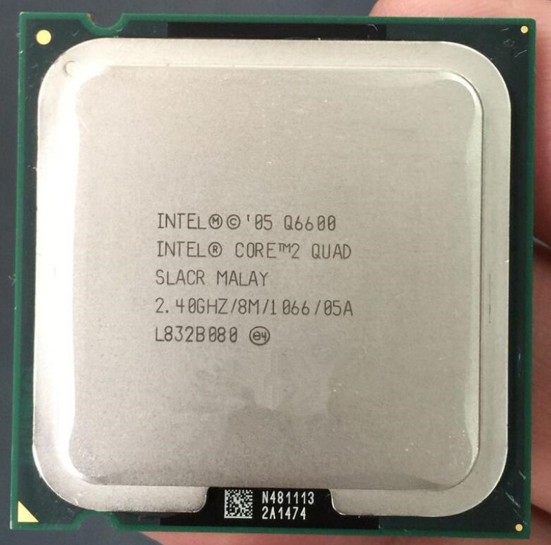 Intel 2.40 GHz LGA 775 Core 2 Quad Q6600 Processor(Silver)