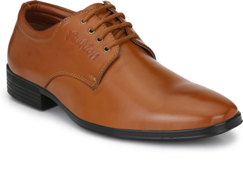 Eego Italy Elegant And Smart Lace Up For Men(Tan)