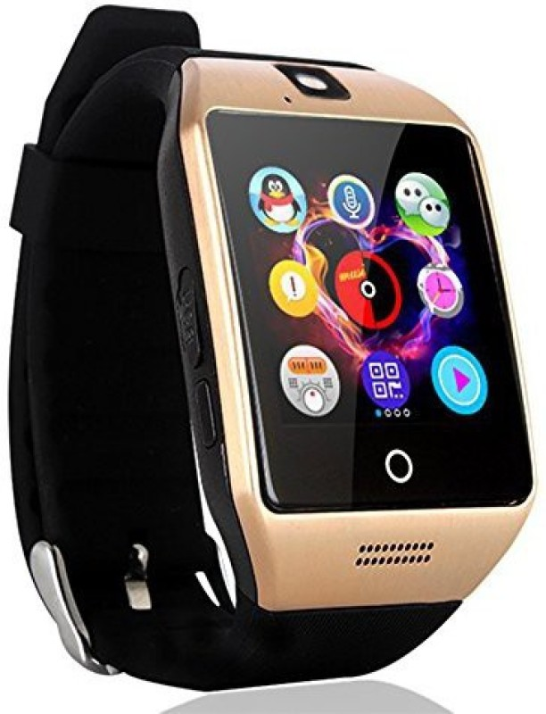 JOKIN Certified Bluetooth Q18 4G Wrist Watch Phone with Camera & SIM Card Support Hot Fashion New Arrival Best Selling Premium Quality Lowest Price with Apps like Facebook, Whatsapp, QQ, WeChat, Twitter, Time Schedule, Read Message or News, Sports, Health, Pedometer, Sedentary Remind & Sleep Monitor
