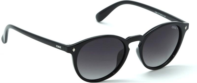 IDEE Round Sunglasses(Black)