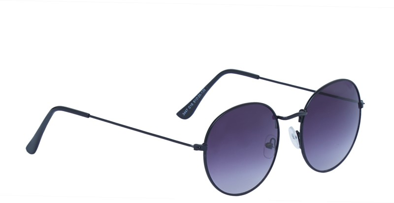 Vast Round Sunglasses(Violet)