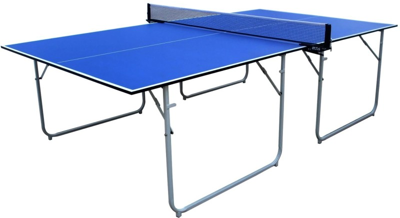 Stag Compact Rollaway Indoor Table Tennis Table(Blue)