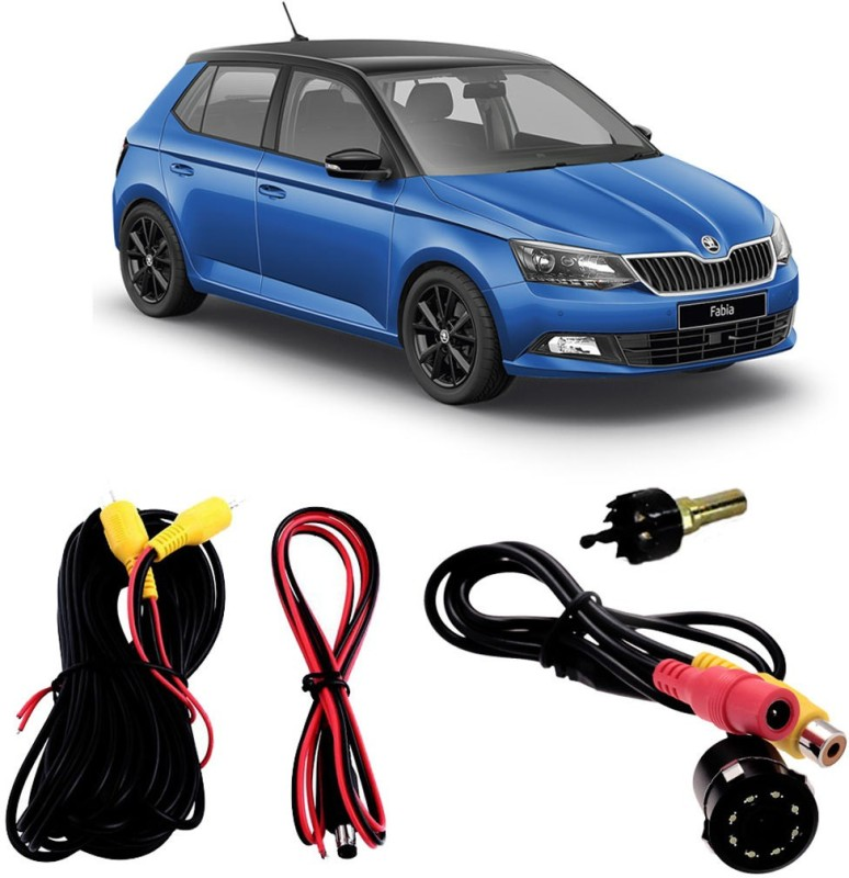 FABTEC Best Quality LED Night Vision Waterproof Car Rear View Reverse Parking Camera For Skoda Fabia Vehicle Camera System