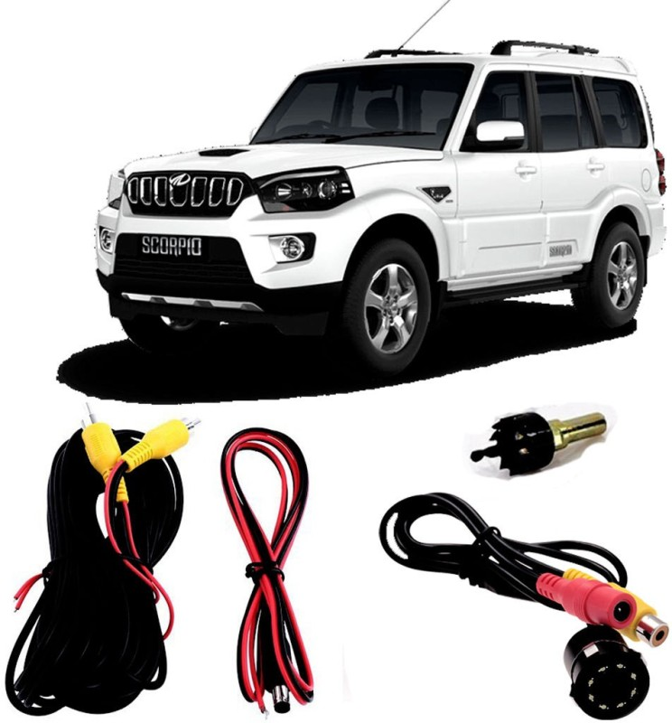 FABTEC Best Quality LED Night Vision Waterproof Car Rear View Reverse Parking Camera For Mahindra Scorpio New Vehicle Camera System