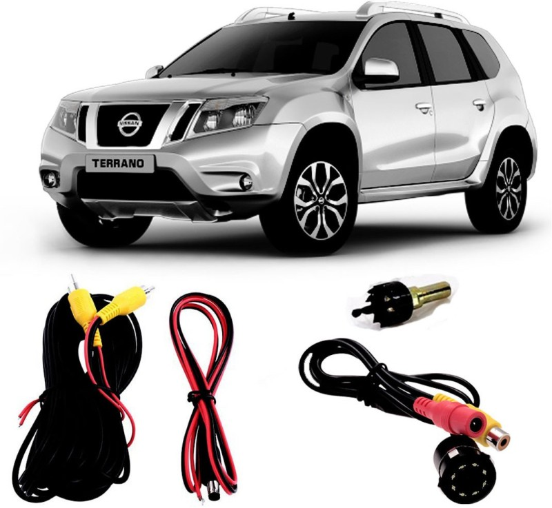 FABTEC Best Quality LED Night Vision Waterproof Car Rear View Reverse Parking Camera For Nissan Terrano Vehicle Camera System