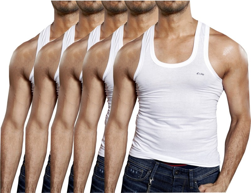 Euro Mens Vest(Pack of 5)
