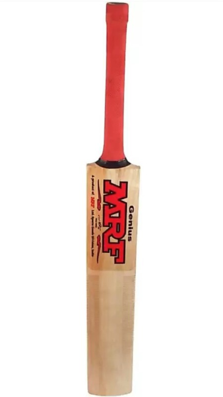 MRF Genius Poplar size 5 Tennis Bat Poplar Willow Cricket Bat(5, 0.7-0.9 Kg kg)