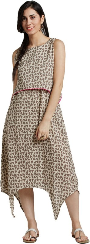 Jaipur Kurti Women Maxi Pink Dress