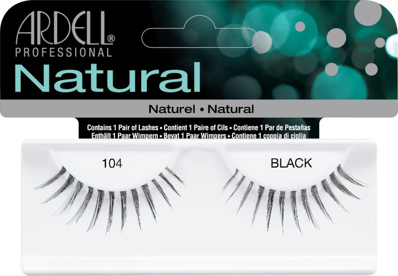 Ardell Naturals 104 Black (65085) - 60410(Pack of 1)