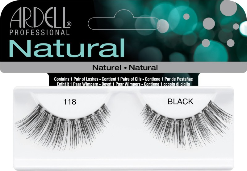 Ardell Naturals 118 Black (65091) - 61810(Pack of 1)