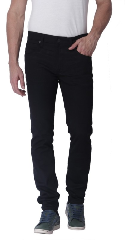 Jack & Jones Skinny Mens Black Jeans