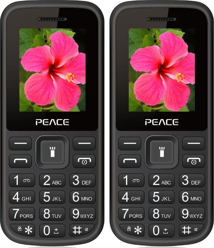 peace-p1-combo-of-two-mobilesblack-black-blue