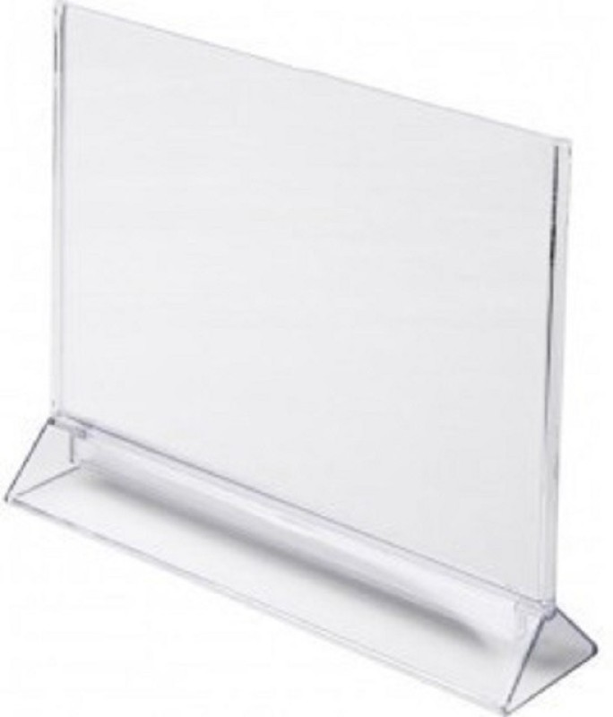 SMKT KEBICA A4 TH SHAPE 2 PEC cLEAR Name Plate Holder